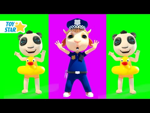 Dolly and Friends 3D | Policeman is Here to Help | Police Cartoon: Yes Yes Keep Going Higher #257