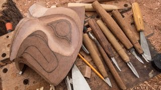 Video FTF #56 Carving A Totem Pole Pt 1, Make Your Own Carving Tools! download MP3, 3GP, MP4, WEBM, AVI, FLV Oktober 2018