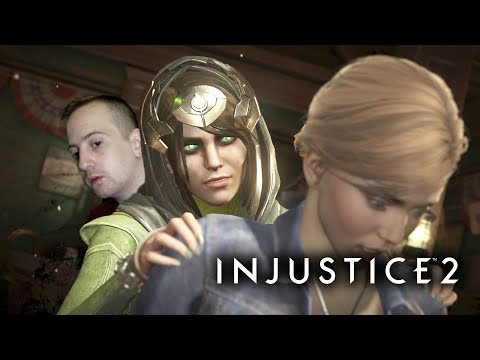 I'll put a spell on you! -Injustice 2- Enchantress