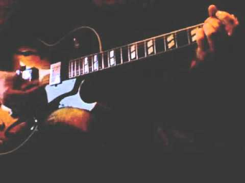 My one and only love: Kenny Burrell chord melody etude.