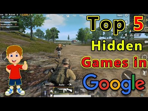 Top 5 Hidden/Secret Games In Google | Play Games In Google Chrome | In Hindi/Urdu |