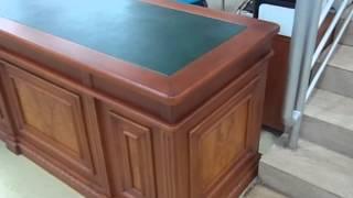 видео Стол конференционный O1.08.18. Коллекция офисной мебели для персонала Озон ТМ Mconcept.