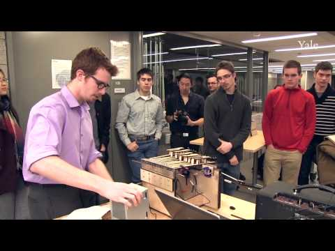 Musical Acoustics and Instrument Design at Yale's Center for Engineering Innovation & Design