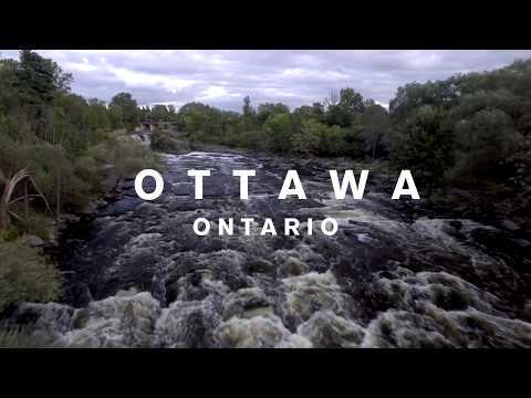 Drone Fly Over of Ottawa 4K