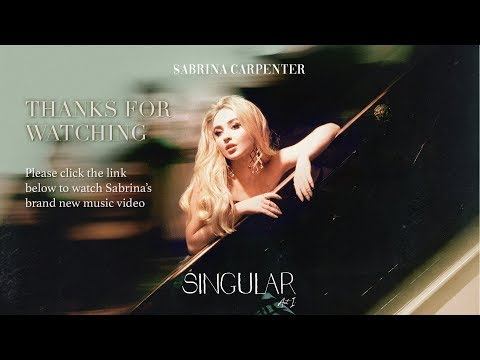 Sabrina Carpenter – Singular Act:1 – London Launch Event Mp3