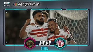 FC Juárez 1-3 Toluca | Resumen | Jornada 1 | Liga BBVA MX