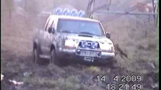 Nissan Navara & Jeep Cherokee & Land Rover Discovery Off Road 4x4