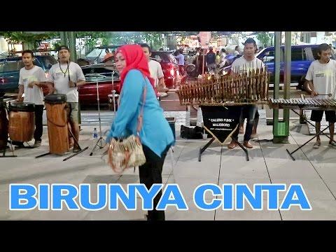 BIRUNYA CINTA - Angklung Malioboro (Pengamen Jogja) Calung Funk