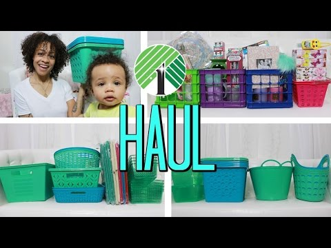 Dollar Tree Haul! New Summer Organization Storage , Mother's Day Gifts + More!