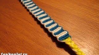 Видео урок № 1 | Прямое плетение