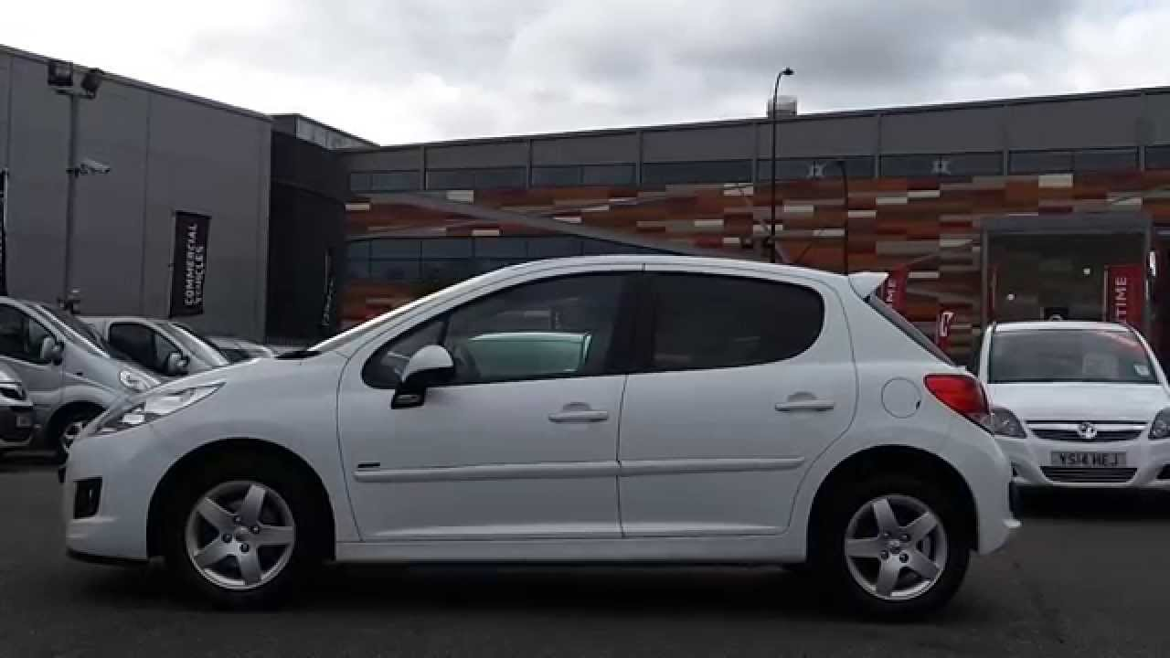 2011 61 plate peugeot 207 1 4 vti 95 sportium 5dr in glacier white youtube. Black Bedroom Furniture Sets. Home Design Ideas