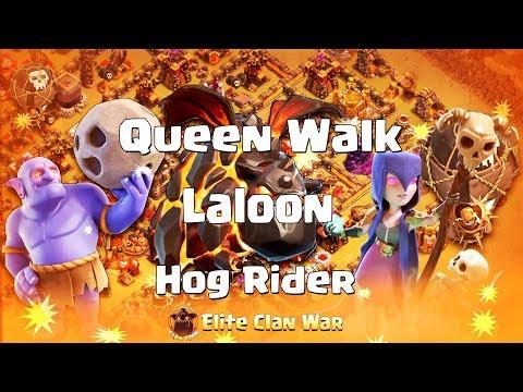 IRAN TOP  vs POURANGERS   Queen Walk + Hogs    3 Stars War TH11   ClanVNN #518