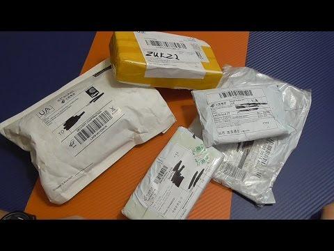 Посылка с AliExpress №108 - чехлы на Iphone 7 и всякая мелочевка с Алиэкспресс