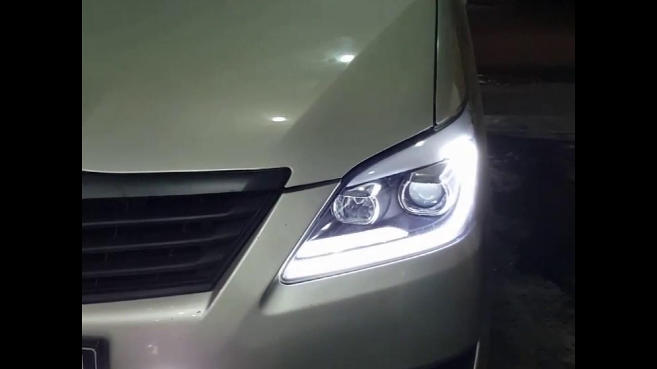Recustom Headlamp Aftermarket Grand Innova Foglamp Projector Youtube Fog Lamp Avanza 2004 Complete