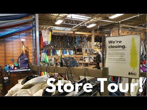 STORE TOUR: REI, Schaumburg IL (STORE CLOSED 1/11/18)