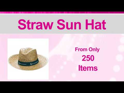 Branded Straw Sun Hat | Imprinted Hats & Caps