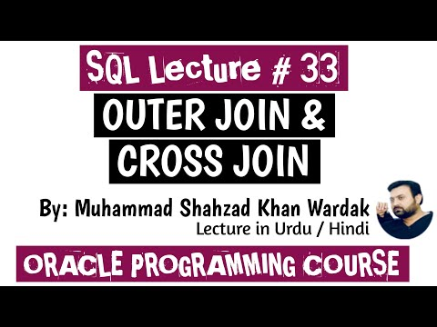 OUTER JOIN In SQL | CROSS JOIN In SQL | SQL  Outer Join, Left Join, Right Join, Full Outer Join