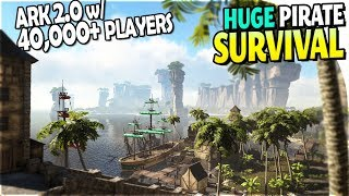 ARK 2 ?!- ATLAS The HUGE NEW PIRATE SURVIVAL Game (40,000+ Players *AT ONCE*) - Atlas Gameplay Info