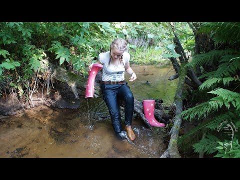 Mud, Water And Aigle Wellies (reuploaded)