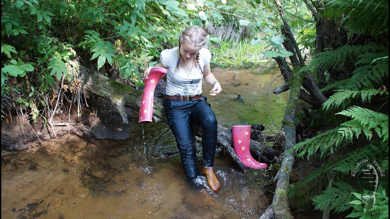 Mud Water And Aigle Wellies Reuploaded Youtube