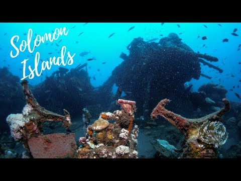 Freediving Airplane Wreck | B17 Bomber, Solomon Islands