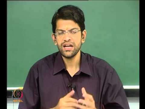 Mod-01 Lec-39 Price & Income Elasticity and Utility