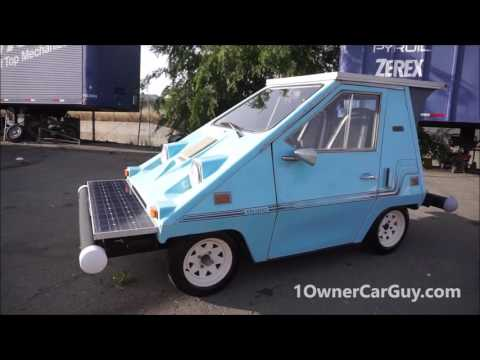 Comuta Car CitiCar Electric Car Full Video Review