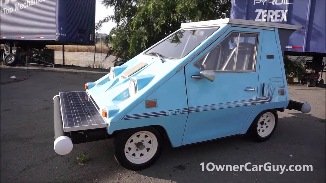 Comuta Car CitiCar Electric Car Full Video Review - YouTube