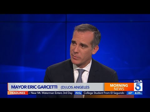 L.A Mayor Eric Garcetti on Homelessness: 'Cities are Going to Drown' Without State, Federal Support