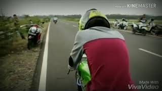Story wa baper drag bike