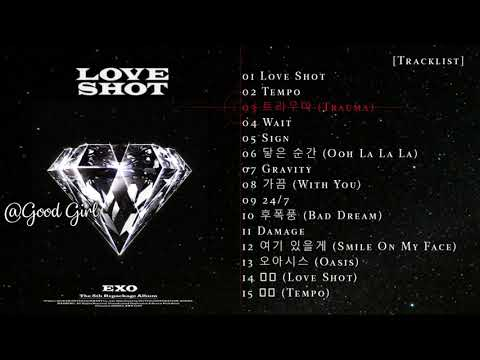 Full Album -  EXO - Love Shot  - 5th Álbum Repackage