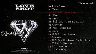 Full Album -  EXO - Love Shot  - 5th Álbum Repackage