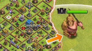 Level 1 King Got the Gladiator King Skin | Clash of Clans |