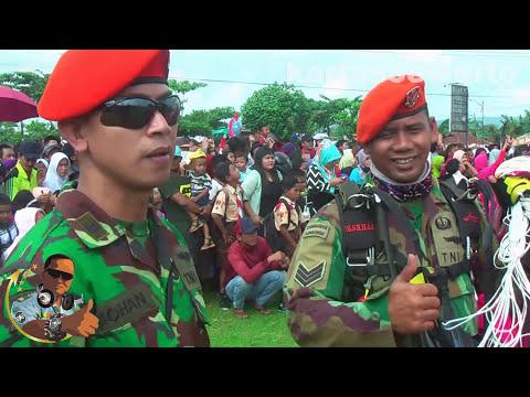 Atraksi TNI AU @ Alun Alun Banyumas - Minggu 23 July 2017