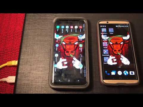 Samsung galaxy s9 plus vs ZTE axon 7 speed...