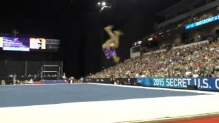 Gabrielle Douglas - Floor Exercise – 2015 Secret U.S. Classic
