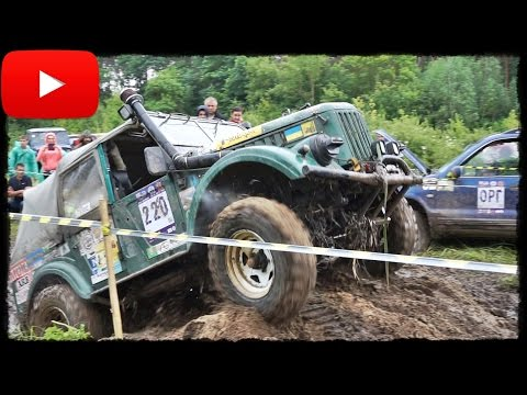 ► ГАЗ 69 Vs Suzuki Jimny Vs Toyota LC 70 на RFC Ukraine 2016 [Off-Road 4x4] 2/3