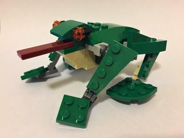 Lego 31058 Frog MOC Alternate Build