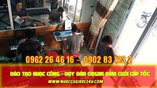 Đào tạo nhạc công nâng cao tại Long An nhaccugiare24h com