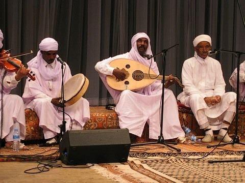 """Soirée avec le groupe musical algérien """" el ferda"""" Béchar 2012"""