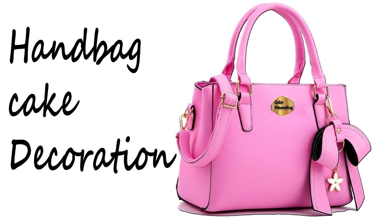 Download How to make a Michael Kors Purse Cake,(Handbag) Decoration