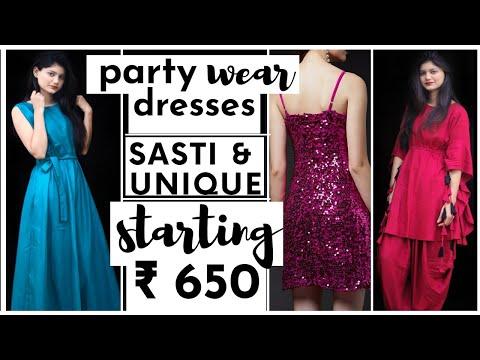 Best & Budget PARTY WEAR Haul | Unique Party Wear Dresses | Huge CILORY Haul |