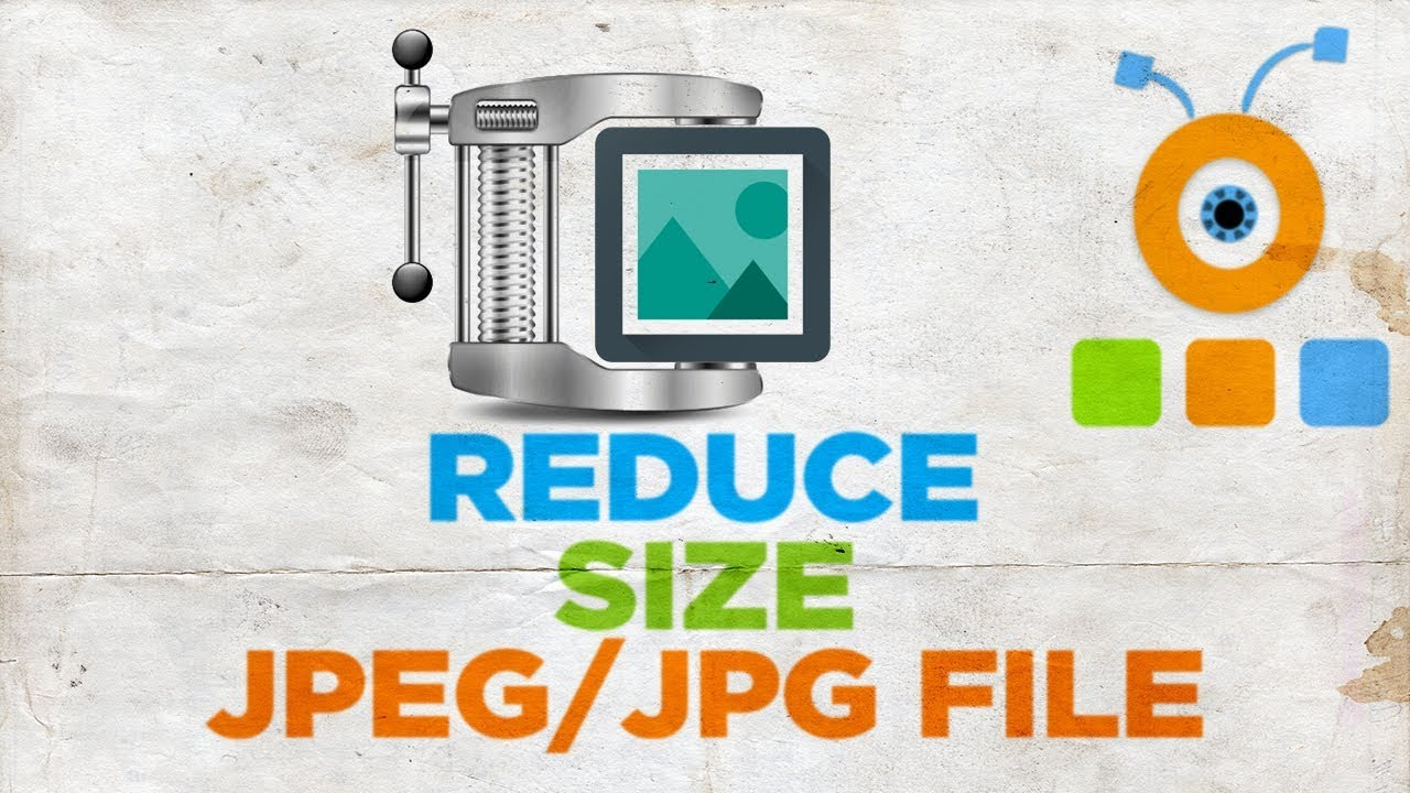 How to Reduce the Size of the JPEG JPG File - YouTube