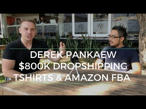 600k in Teespring Sales and Over 200k in Amazon FBA with Derek Pankaew