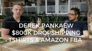 600k in Teespring Sales and Over 200k in Amazon FBA with Derek Pankaew thumbnail