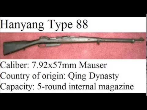 Infantry weapons of World War II - The Republic of China