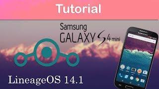 LineageOS 14.1 para Samsung S4 mini 90/92/95   Tutorial   Español