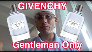 Givenchy Gentlemen Only fragrance/cologne review (Rio Cappuccino impersonation)