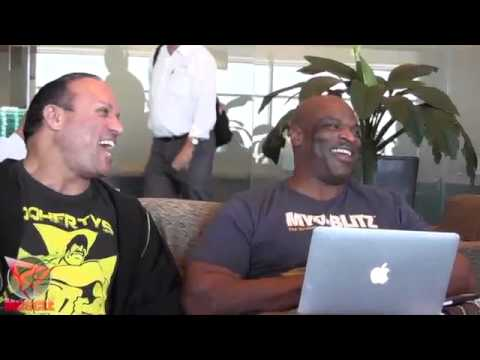 Ronnie Coleman Stuck At The United Club With Palumbo