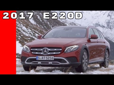 2017 Mercedes E220d All Terrain Test Drive, Interior, Design